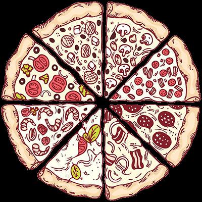 Pizzas artesanais ginos:
